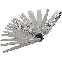 0,05-1,0 mm KS TOOLS 300.0613 Antimagnetissche Messing Fühlerlehre 20 Blatt