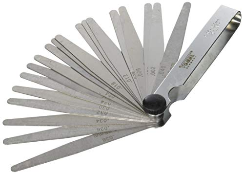 Vogel 411007 - Juego galgas espesores acero templado laminas 20