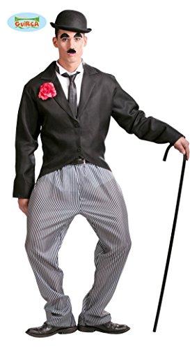 Stummfilm Kostüme (Stummfilm Komiker - Kostüm für Herren Gr. M/L,)