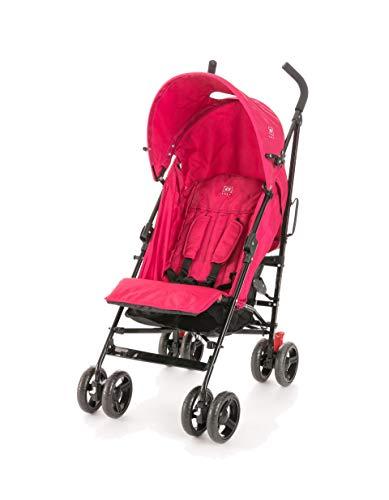 Silla de paseo ligera Avenue ZY Safe, para bebes hasta 15kg, solo 7.15 Kg - Zippy (Rosa)