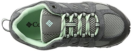 Columbia Youth Redmond Waterproof, Chaussures de Running Compétition Fille Gris (Monument, Sea Ice 036)