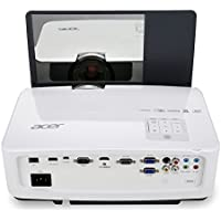 Acer U5220 XGA 3000-Lumens DLP 3D Business and Education Projector (White)
