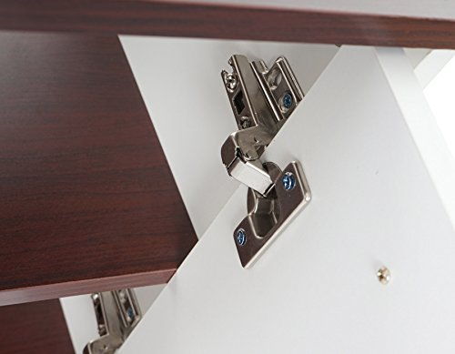 Arredo bagno serie Arezzo sottolavabo 56x60x28cm legno ~ bianco-marrone