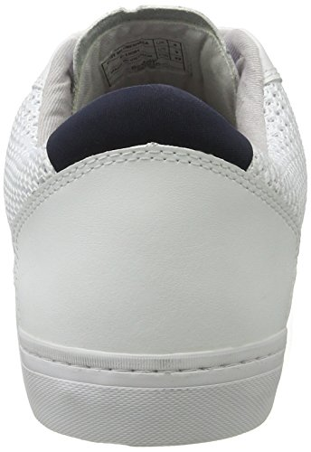 Boxfresh Herren Deby Sh Cmesh/Lea Wht Sneaker Weiß (Weiß)