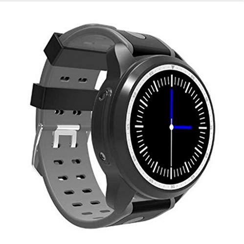 XUWLM Fitness-Armband Smart Watch Android 6.0 OS Smartwatch 4G WiFi GPS 1 GB + 16 GB Armbanduhr Unterstützung Whatsapp Facebook YouTube, grau
