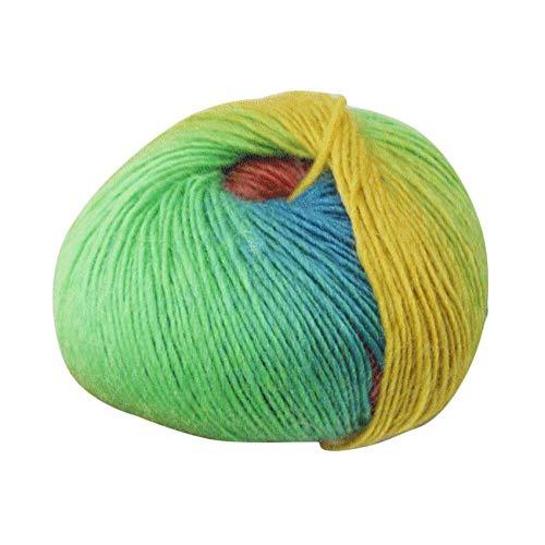 RoadRoman 1 Rolle weiche Wolle Crochet Baby-Garn Baby-Strick Wollgarn Hand Strickgarn