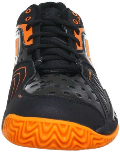 Lotto Q3778, Chaussures de sport homme Schwarz (BLK/HALL.ORANGE)