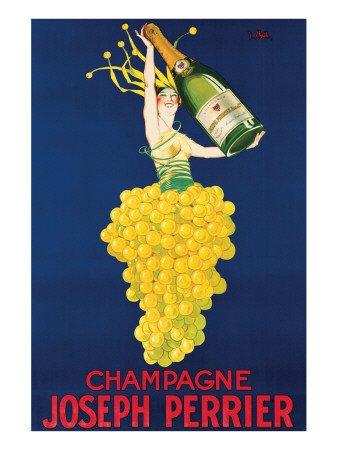 Champagne Joseph Perrier , 61x82