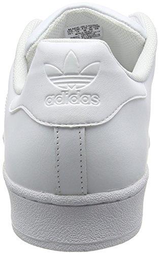 adidas Originals Unisex-Erwachsene Superstar Low-Top Weiß (Ftwbla/Ftwbla/Ftwbla)
