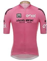 Santini Firo d 'Italia - Camiseta de mangas cortas para hombre, Hombre, Giro d'Italia, Rosa, L