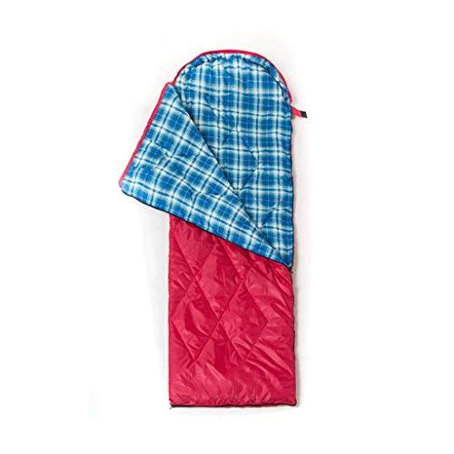 Sac de couchage LCSHAN Polyester Camping Voyage résistant à l'humidité épais Warm Down Cotton