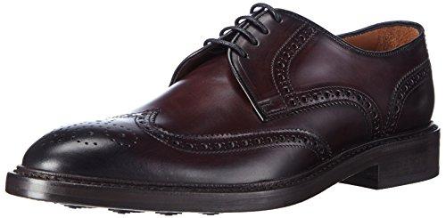 Lottusse LOTTUSSE HARRYS L6724 - Zapatos con Cordones de Piel Hombre, Color Rojo, Talla 44