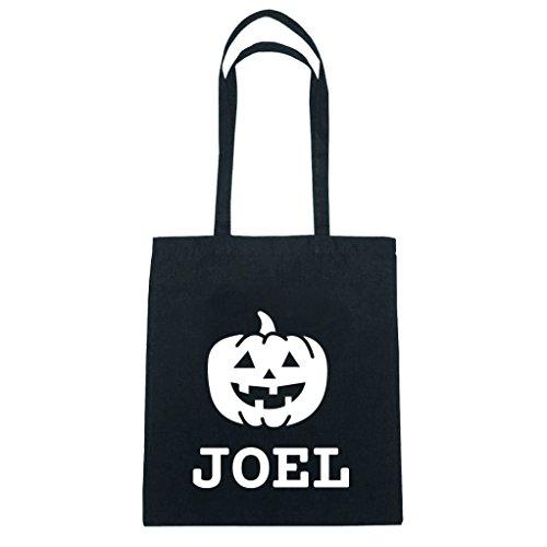 JOllify Baumwolltasche Halloween für JOEL - Kürbis