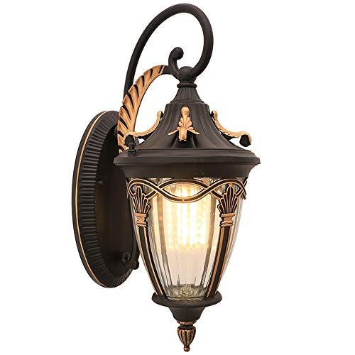 Lampada da parete esterno interno in ottone attacco per ceramica,vetro ecc..
