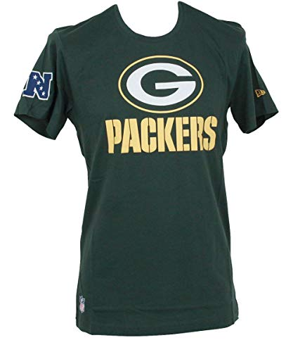 A NEW ERA Era NFL Fan Logo Green Bay Packers Camiseta Cilantro Green 800eaf846
