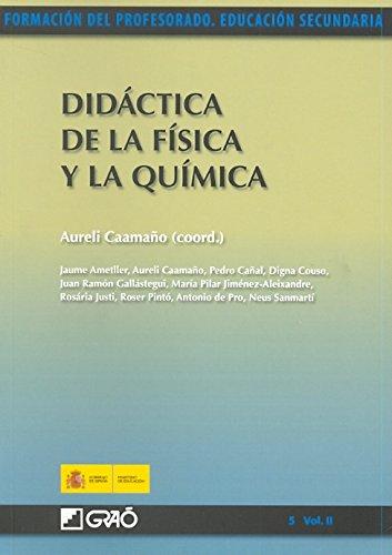 Didáctica de la Física y la Química: 052 (Formacion Profesorado-E.Secun.)