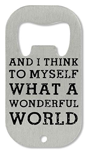 OpenWorld Wonderful World Flaschenöffner