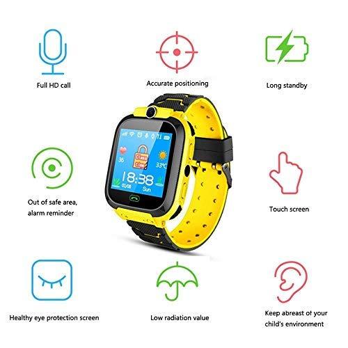 Tenlso Smartwatch Niños, Reloj Inteligente para Niños Impermeable con GPS Localizador, Hacer...