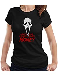 Cloud City 7 Scream Favourite Scary Movie Women s T-Shirt ebea2fe58b1