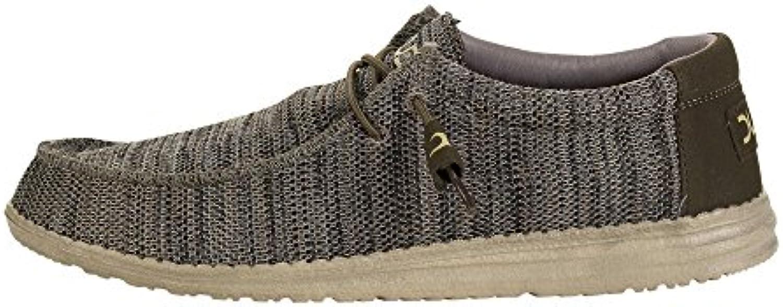 Dude Shoes Männer Wally Sox Braun/Beige