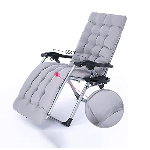 DEO Fauteuils inclinables Office Lounge Chaises Chaise pliante Pause déjeuner Portable Siesta lit balcon extérieur chaise longue (Couleur : C)