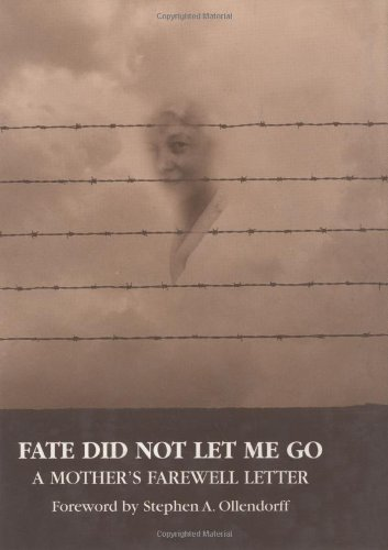 Ebooks Fate Did Not Let Me Go: A Mother's Farewell Letter Descargar Epub