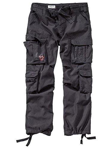 DELTA Airborne Vintage Trousers, schwarz, 4XL -