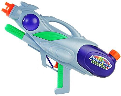 Powershot Wasser-Pistole Kinder-Spielzeug Gelb Grün Wasser-Spritze Sommer-Spielzeug Spielzeug-Pistole Wasser-Gewehr Aqua-Gun Pool-Kanone Planschbecken-Pistole Garten-Party Spielzeug-Waffe Swimming-Pool-Gun -
