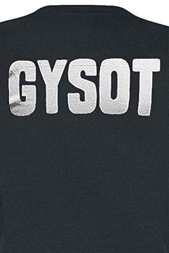 Officiellement Marchandises Sous Licence Gas Monkey Garage GYSOT Femme Tee Noir