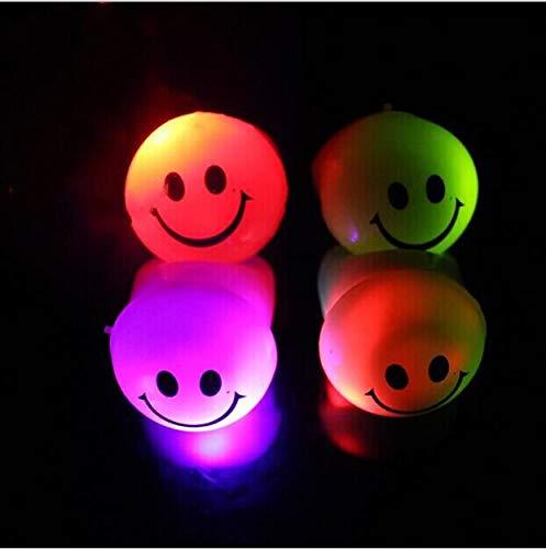 Halloween Party Kostüm Props Requisit Smiley Gesicht LED leuchtend blinkend Spielzeug Ringe Finger Lampe Geschenk