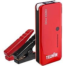 Telwin 829566 - Arrancador multifuncion de litio y Power bank, color rojo