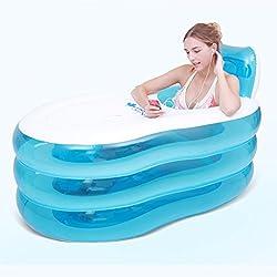 AJZGF Aufblasbare Badewanne für Erwachsene Badewanne aus Kunststoff Badewanne für Kinder Badewanne