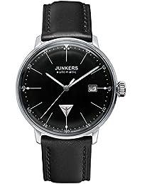 Junkers Herren-Armbanduhr XL Bauhaus Automatik Analog Automatik Leder 60502