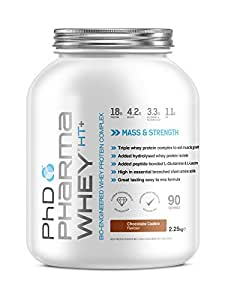 PhD Nutrition Pharma Whey HT+ Protein powder - 2.2 kg, Chocolate Cookie