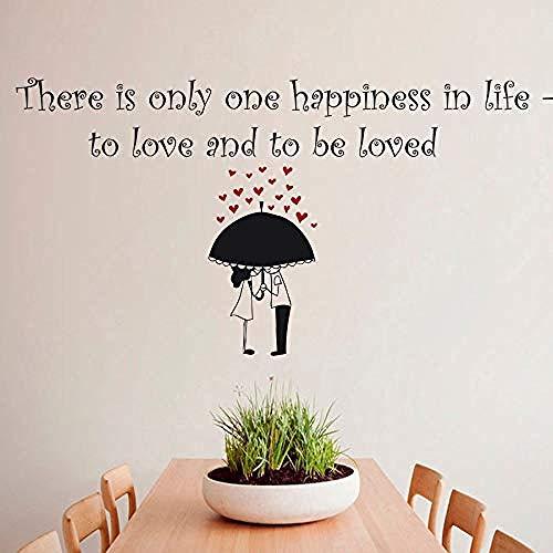 59x135cm paraguas pareja patrón vida feliz amor cita