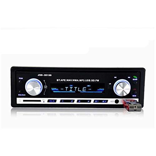SPFCAR Autoradio Bluetooth V2.0 Autoradio JSD 20158 Auto-Stereo-Audio-In-Dash-FM-Empfänger Aux Input Receiver USB-MP3-MMC WMA-Radio Audio-input-kit