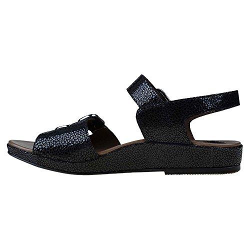 Impressa Preta Earthies Sandale Lackleder Verdon qwInf47