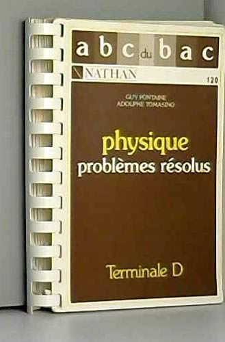 Problemes resolus de physique term d 022796