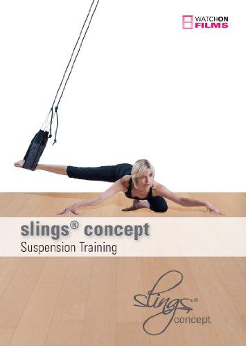 Preisvergleich Produktbild slings® concept DVD - 3 dynamische Workouts an den Seilen: slings® pilates, slings® athletic, slings® in rhythm - Suspension Training - Schlingentraining