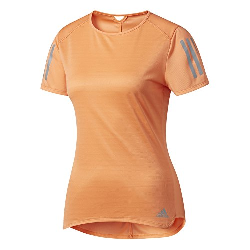 adidas Damen Response T-Shirt, Easy Orange, S
