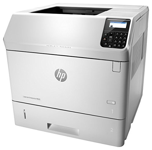 HP LaserJet Enterprise M605dn Laserdrucker (LAN, Duplex, 600 Blatt Papierfach) weiß -
