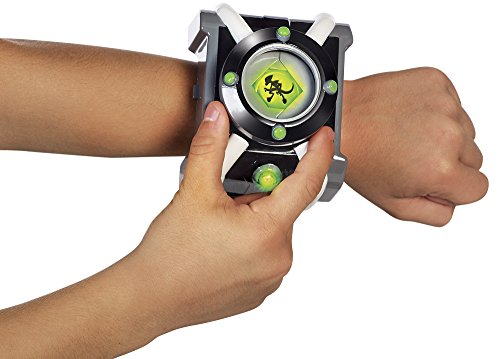 Ben 10 Omnitrix Deluxe Roleplay, Color Black, Green, Gray, White, One Size (Giochi Preziosi BEN05000)