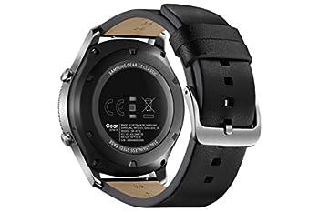 Samsung Gear S3 Classic (3,3 Cm (1,3 Zoll) Display, Nfc, Bluetooth, Wlan, Tizen Os), Mit Echtleder-armband 2