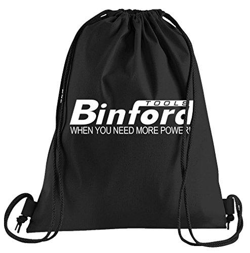 Binford Tools Sportbeutel – Bedruckter Beutel – Eine schöne Sport-Tasche Beutel mit Kordeln