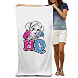 cleaer Suicide Squad Harley Quinn Beach Towel for Adults / 31x51 intch