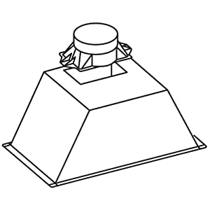CATA GT Plus 820 m³/h Encastrada Negro C – Campana (820 m³/h, D, F, B, 65 dB, 45 dB)