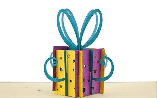 3D Pop-Up Karte zum Geburtstag, Geburtstagskarte, Glückwunschkarte, Gutschein, Glückwunsch Karte, Grußkarten, Geschenkkarte, 3D G02