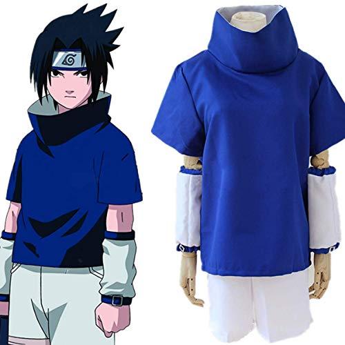Gaosheng (Naruto Kostüm von Sasuke Uchiha Blau (L)