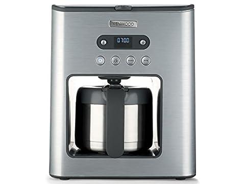 Kenwood CMM 620 Persona Filterkaffeemaschine (inkl. Timer, Thermokanne) polierter edelstahl / 1,25 Liter