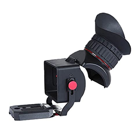 Sevenoak Pro 1 3.0X Magnification View Extender Viewfinder DSLR Viewfinder Magnifier with 43.5mm Diameter Diopter Adjustable Diopter Ring for 3
